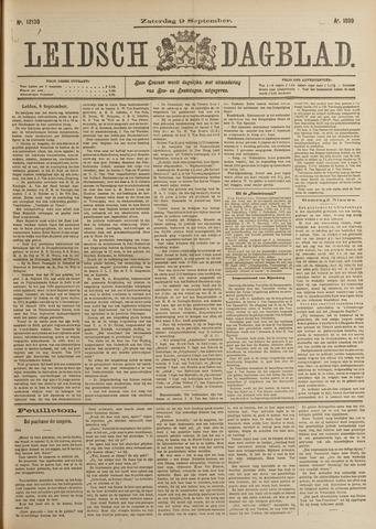 Leidsch Dagblad 1899-09-09