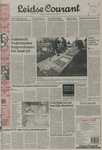 Leidse Courant 1992-03-26