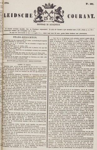 Leydse Courant 1884-08-26