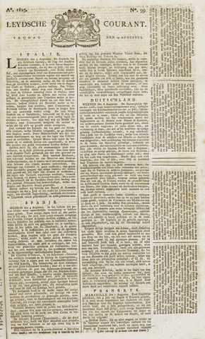 Leydse Courant 1825-08-19