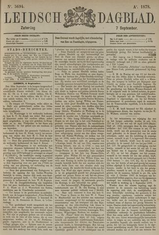 Leidsch Dagblad 1878-09-07