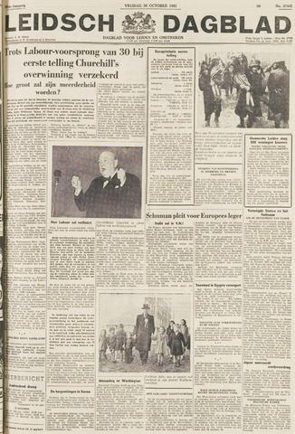 Leidsch Dagblad 1951-10-26