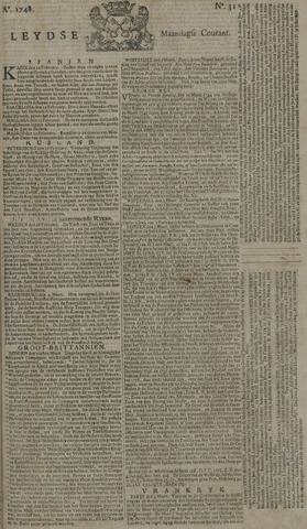 Leydse Courant 1748-03-11