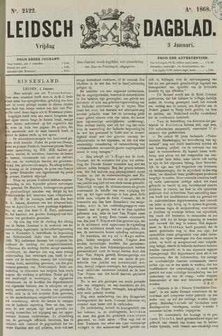 Leidsch Dagblad 1868-01-03
