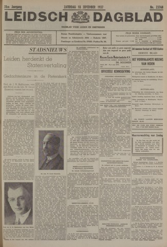 Leidsch Dagblad 1937-09-18