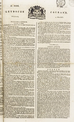 Leydse Courant 1844-03-22