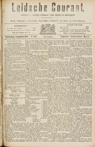 Leydse Courant 1889-08-01