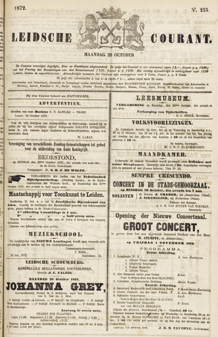 Leydse Courant 1872-10-28
