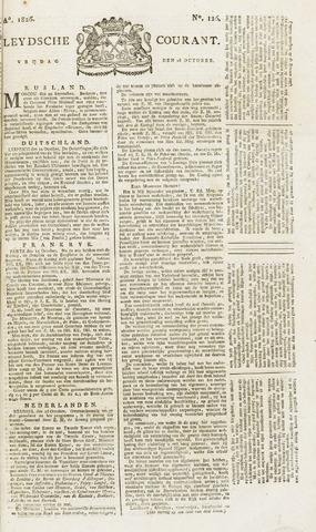 Leydse Courant 1826-10-20