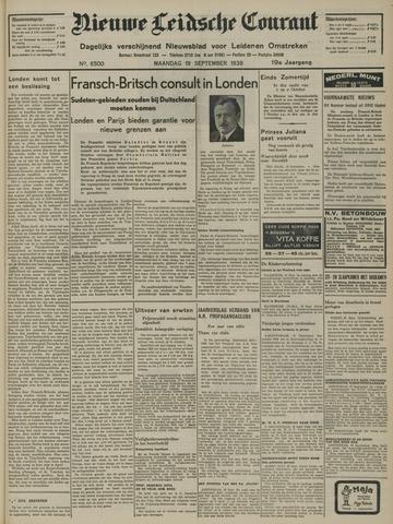 Nieuwe Leidsche Courant 1938-09-19