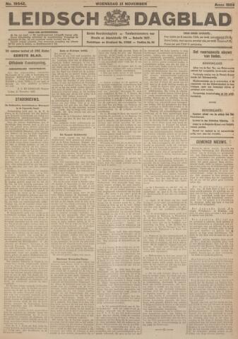 Leidsch Dagblad 1923-11-21