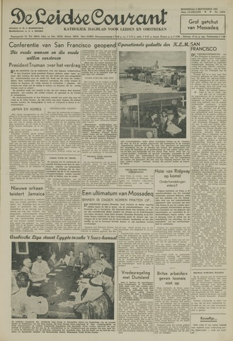 Leidse Courant 1951-09-05