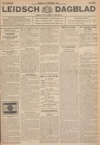 Leidsch Dagblad 1928-12-21