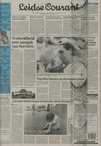 Leidse Courant 1992-08-08