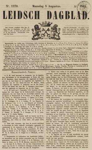 Leidsch Dagblad 1864-08-08