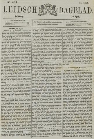 Leidsch Dagblad 1876-04-29