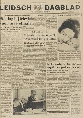 Leidsch Dagblad 1961-11-29