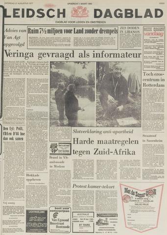 Leidsch Dagblad 1977-08-27