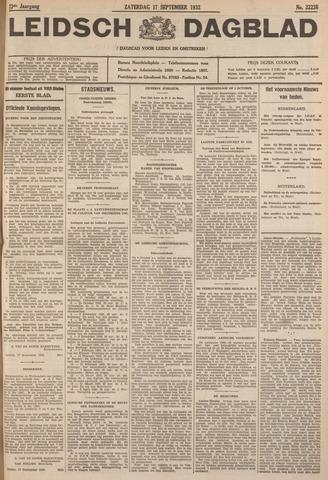 Leidsch Dagblad 1932-09-17