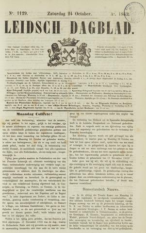 Leidsch Dagblad 1863-10-24