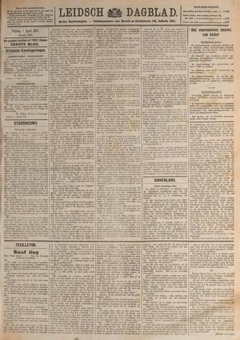 Leidsch Dagblad 1921-04-01