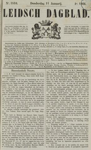 Leidsch Dagblad 1866-01-11