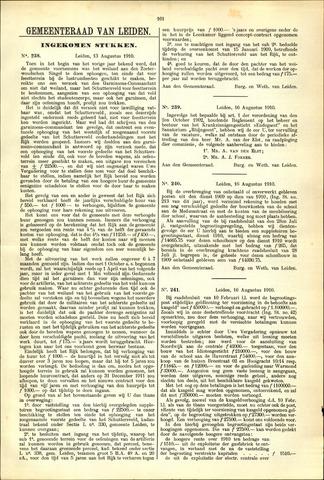 Handelingen van de Raad 1910-08-13