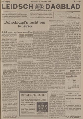 Leidsch Dagblad 1940-12-11