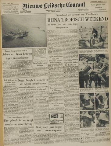 Nieuwe Leidsche Courant 1957-07-01