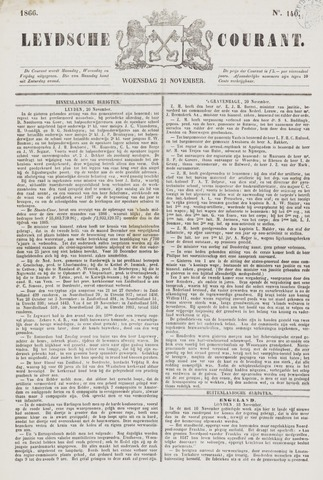 Leydse Courant 1866-11-21
