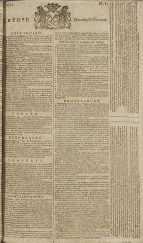 Leydse Courant 1772-07-20