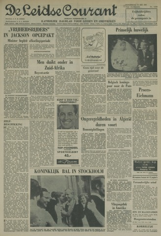 Leidse Courant 1961-05-25