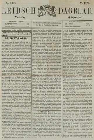 Leidsch Dagblad 1873-12-31