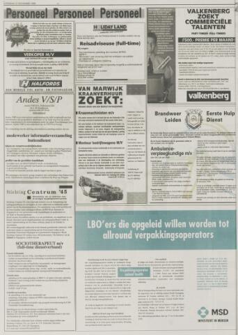 sollicitatiebrief reisadviseuse Leidsch Dagblad | 27 november 1999 | pagina 42   Historische  sollicitatiebrief reisadviseuse