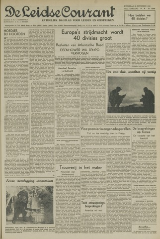 Leidse Courant 1951-11-28