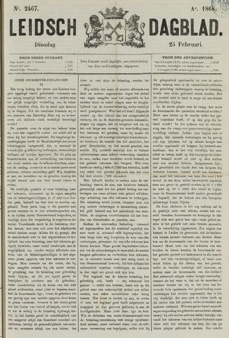 Leidsch Dagblad 1868-02-25