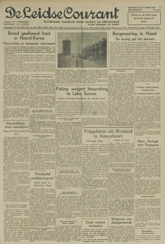 Leidse Courant 1950-11-13