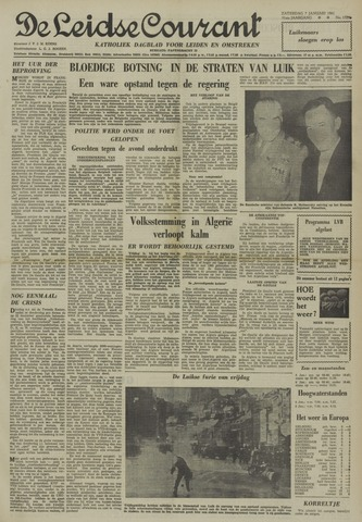 Leidse Courant 1961-01-07