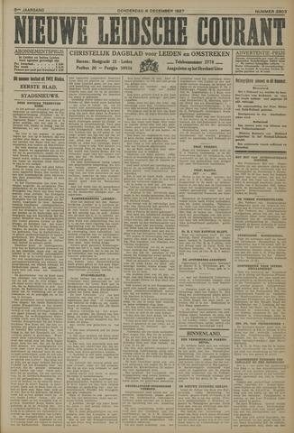 Nieuwe Leidsche Courant 1927-12-08