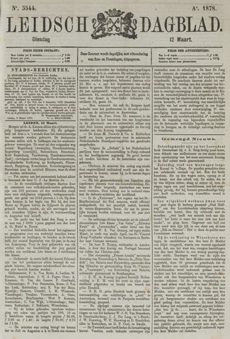 Leidsch Dagblad 1878-03-12
