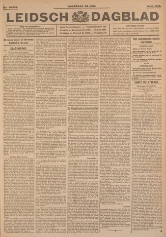 Leidsch Dagblad 1926-06-30