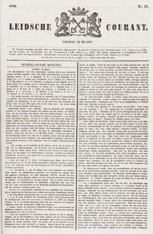 Leydse Courant 1876-03-24