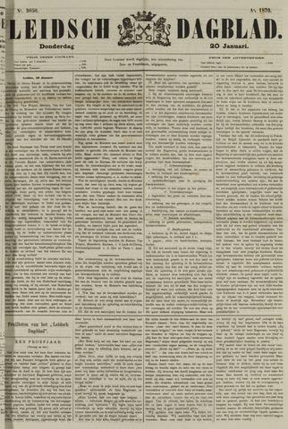 Leidsch Dagblad 1870-01-20