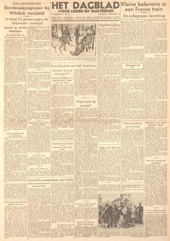 Dagblad voor Leiden en Omstreken 1944-02-14