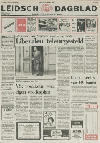Leidsch Dagblad 1982-09-11