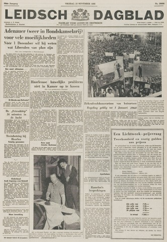 Leidsch Dagblad 1955-11-25