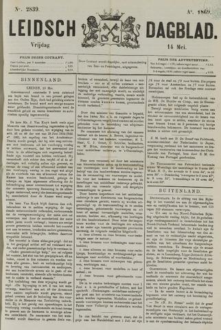 Leidsch Dagblad 1869-05-14