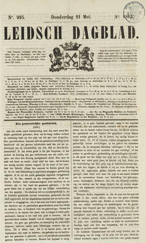 Leidsch Dagblad 1863-05-21
