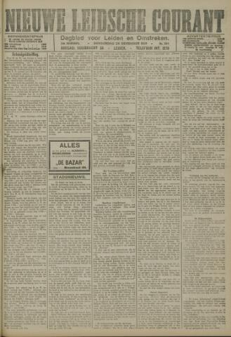 Nieuwe Leidsche Courant 1921-11-24