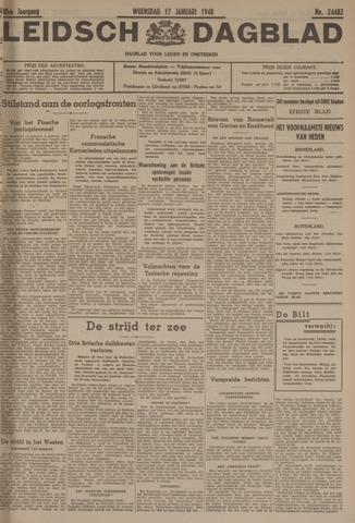 Leidsch Dagblad 1940-01-17